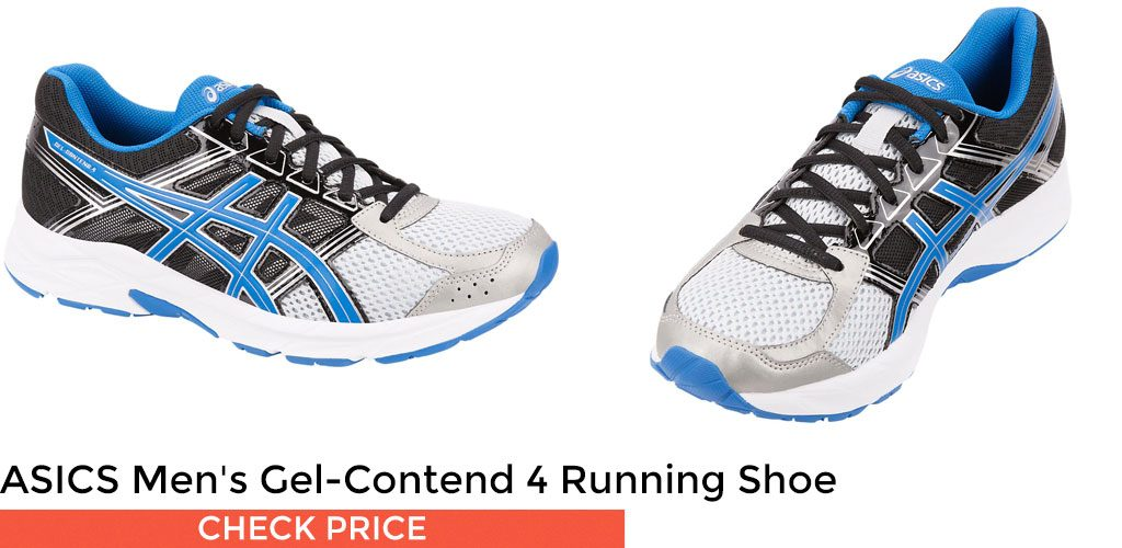 ASICS makes the Gel-Contend 4 Running Shoe for both men and women in these are some of the best budget-friendly shoes for high arches in the market.