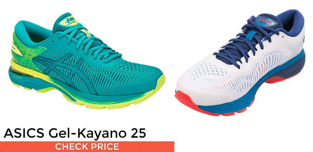 ASICS Men s Gel-Kayano Running Shoes. Shoe Category  Guidance  Pronation   Severe  Arch Support  ... bd2a58f3647f