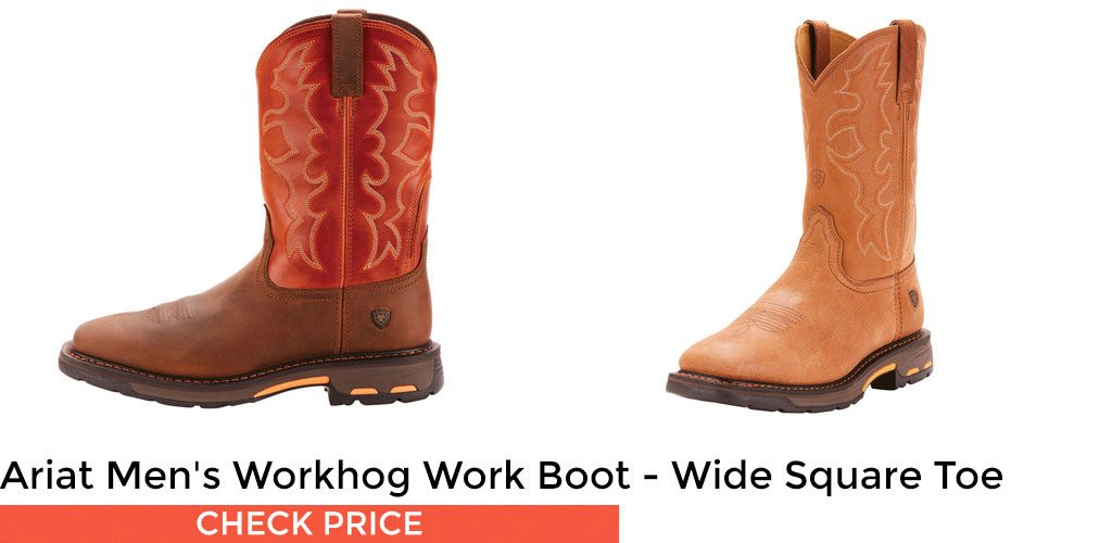 Ariat Men's Workhog Work Boot - Wide Square Toe