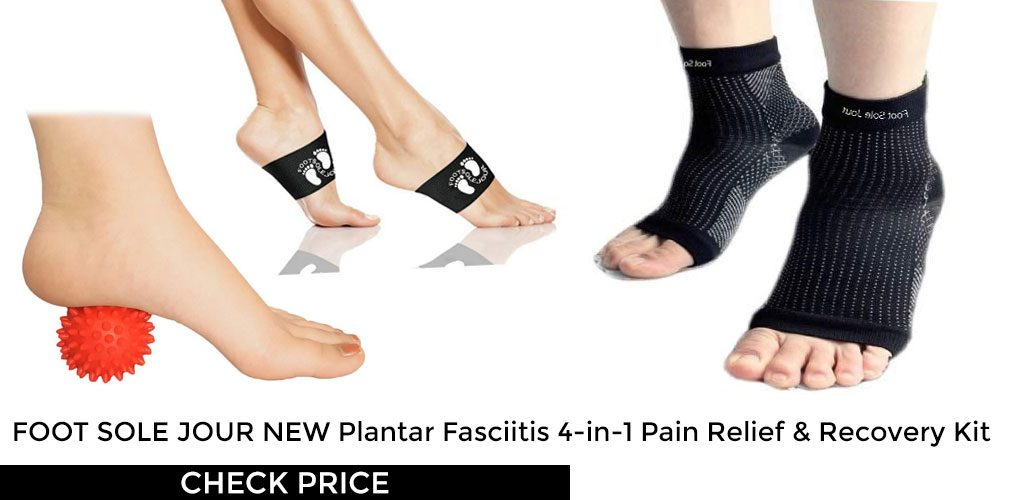 dec9973e50 4-in-1 Plantar Fasciitis Pain Relief and Recovery Kit by Foot Sole Jour