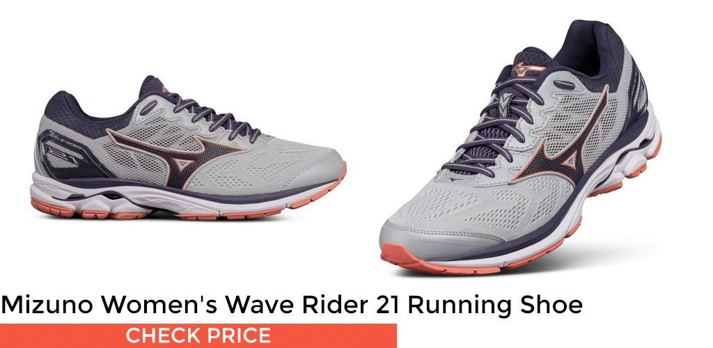 #1 - Mizuno Women's Wave Rider 21 Running Shoe