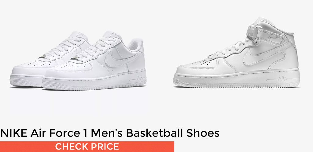 #2 - NIKE Air Force 1 Men's Basketball Shoes