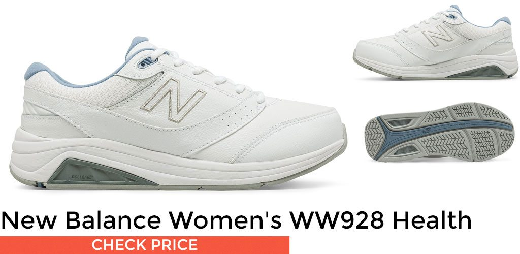 New Balance Women's WW928 Health Walking Lace-Up Sneaker