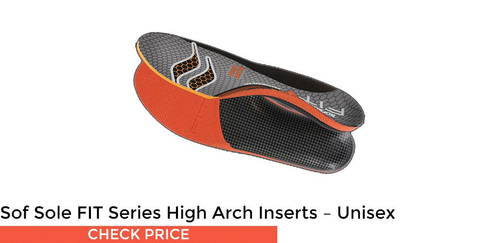 Sof Sole FIT Series High Arch Inserts - Unisex