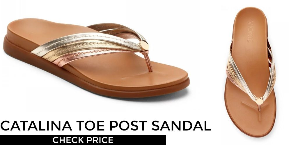 Vionic Catalina Toe Post Sandal