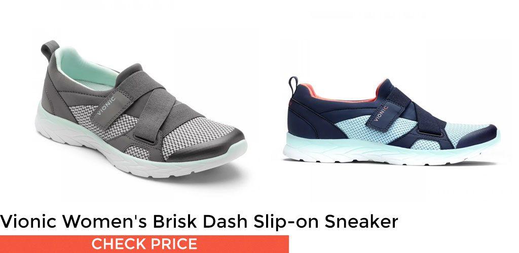Vionic Women's Brisk Dash Slip-on Sneaker